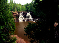 Upper Gooseberry Falls  Minnesota