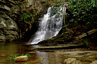 Hanging Rock Lower Cascades   North Carolina