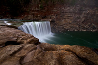 Kentucky landscapes and waterfalls